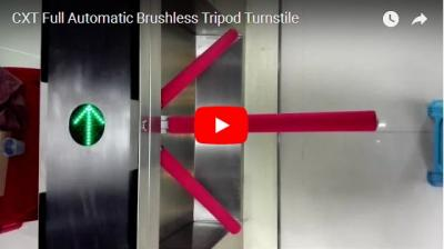 Full Automatic Tripod Turnstile Demonstration Video