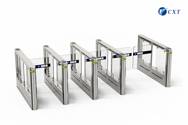 Single Glass Barrier Swing Fastlane